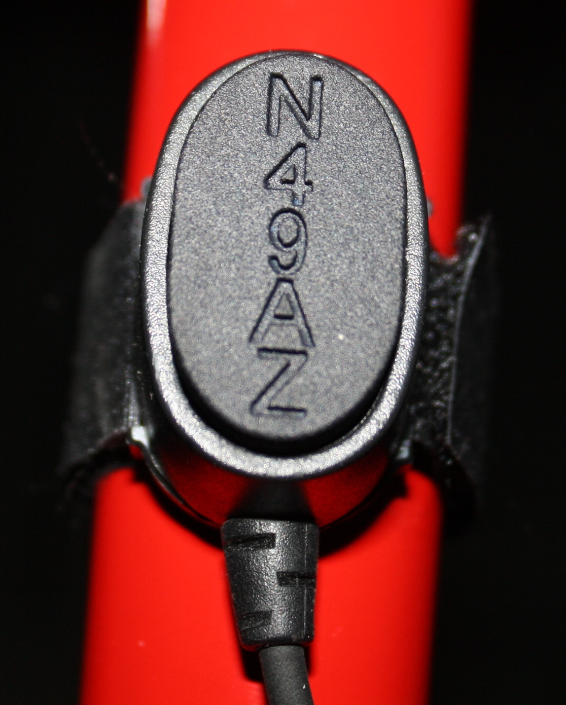I designed a cap for my Icom style Push-To-Talk switch, personalized it with my trike's N-numb